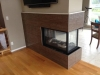 Gas Fireplace Installation - Marquis Atrium 3-sided See thru