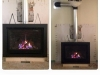 Gas Fireplace Installation - Valor H5
