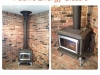 Wood Stove Installation - Pacific Energy Vista Classic