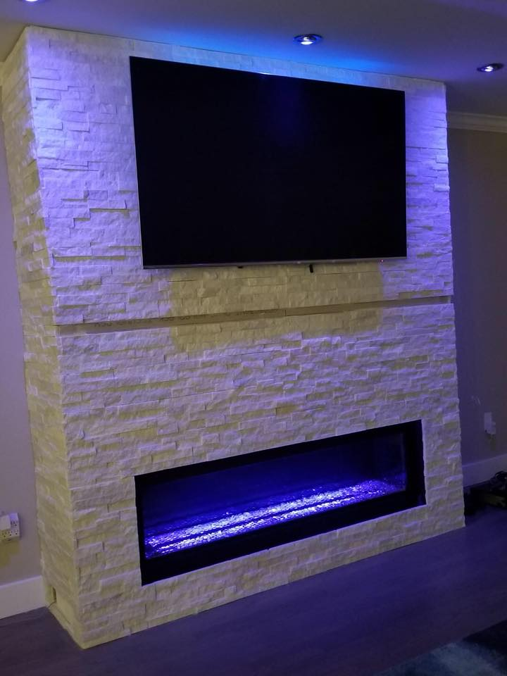 """Napoleon Vector 62"""" Linear Fireplace"""