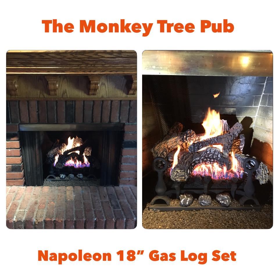 New Napoleon Gas Log Set
