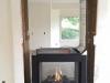Gas Fireplace Installation - Napoleon BHD4 See-Thru