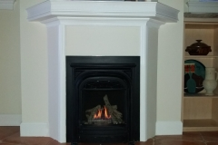 Valor Portrait Fireplace