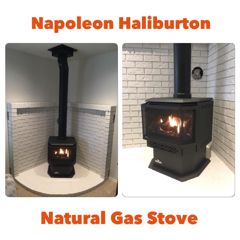 Napoleon Haliburton Gas Stove