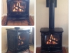 Gas Stove Installations - Napoleon GDS60 Enamel Brown