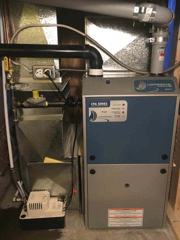 Continental Gas Furnace 10