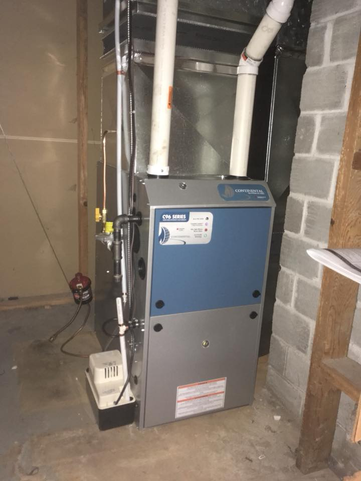 Continental Gas Furnace 8