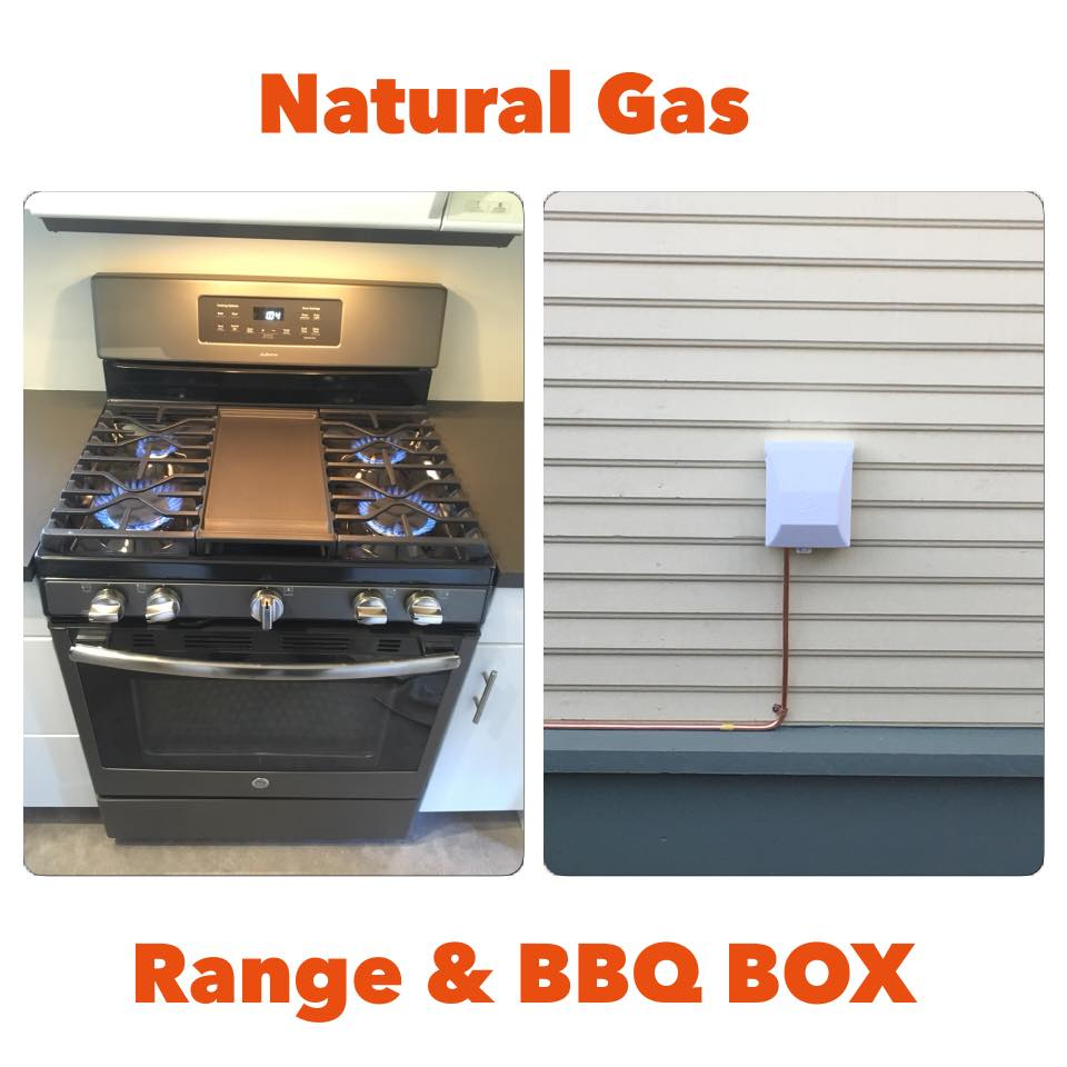 Gas Range and BBQ Box