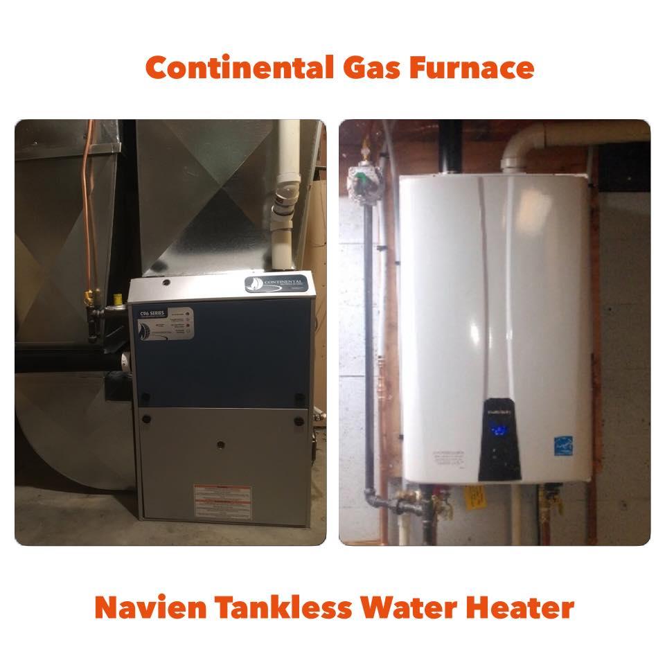 Navien Tankless & Gas Furnace