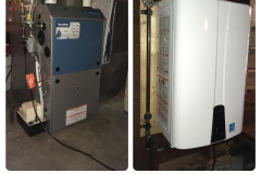 Continental Gas Furnace & Navien Tankless