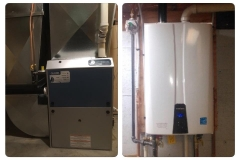 Navien Tankless & Gas Furnace