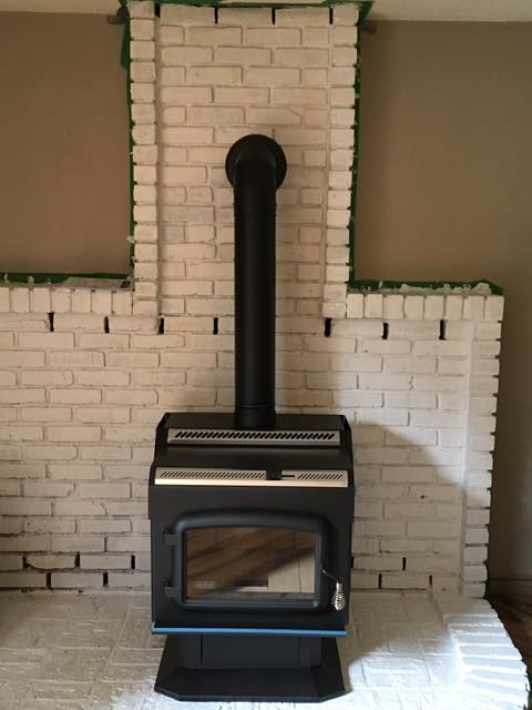 Drolet Large Wood Stove