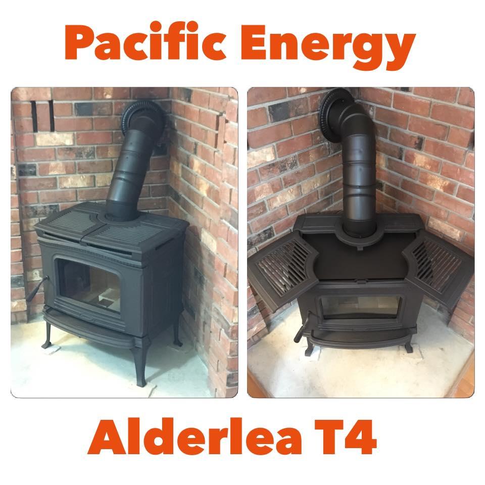 Pacific Energy Alderlea T4 Wood Stove