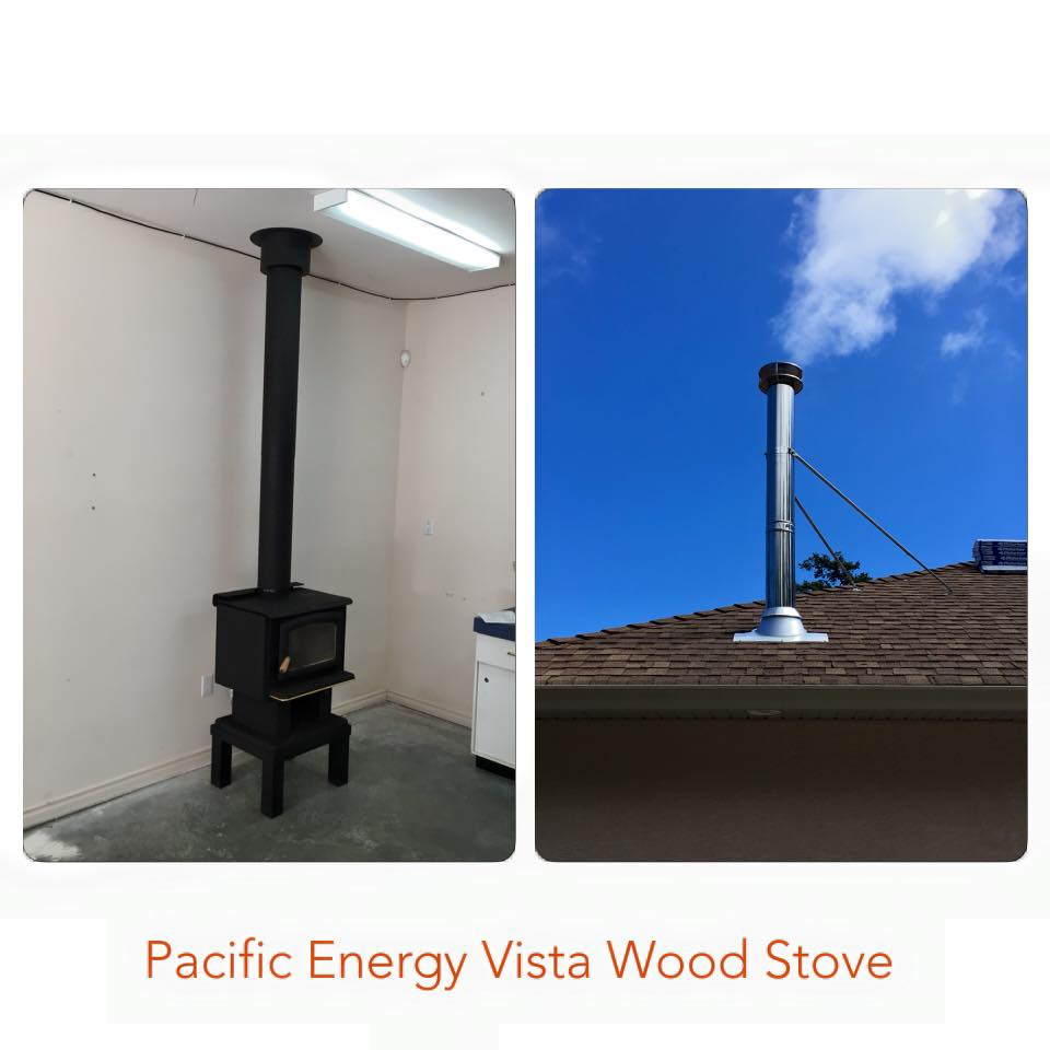 Pacific Energy Vista Wood Stove 4