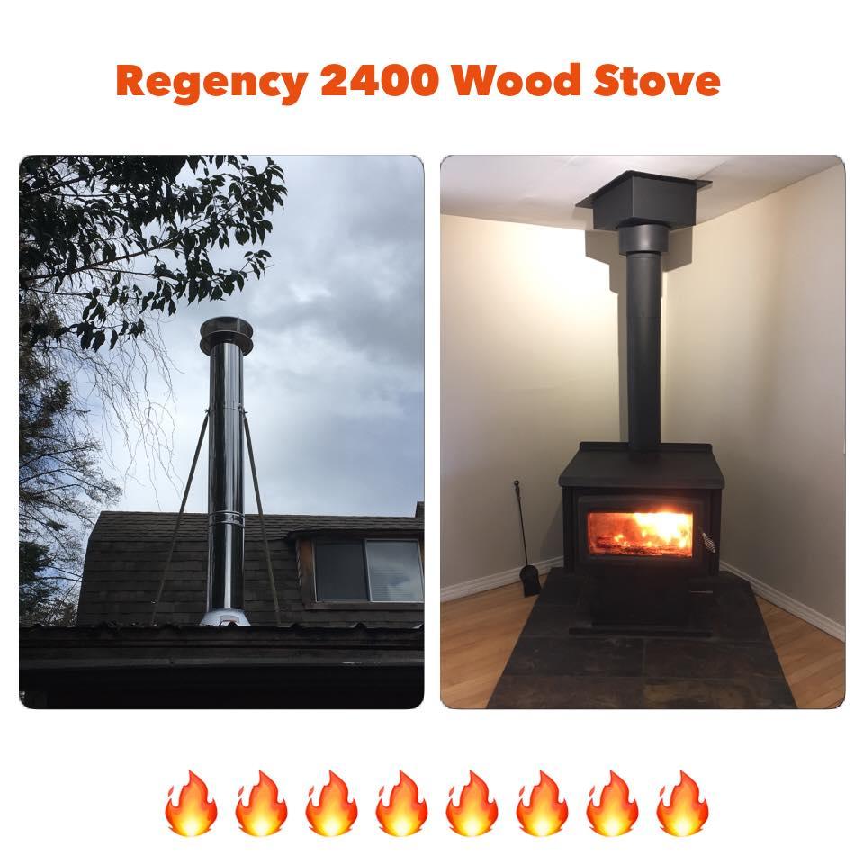 Regency 2400 Wood Stove