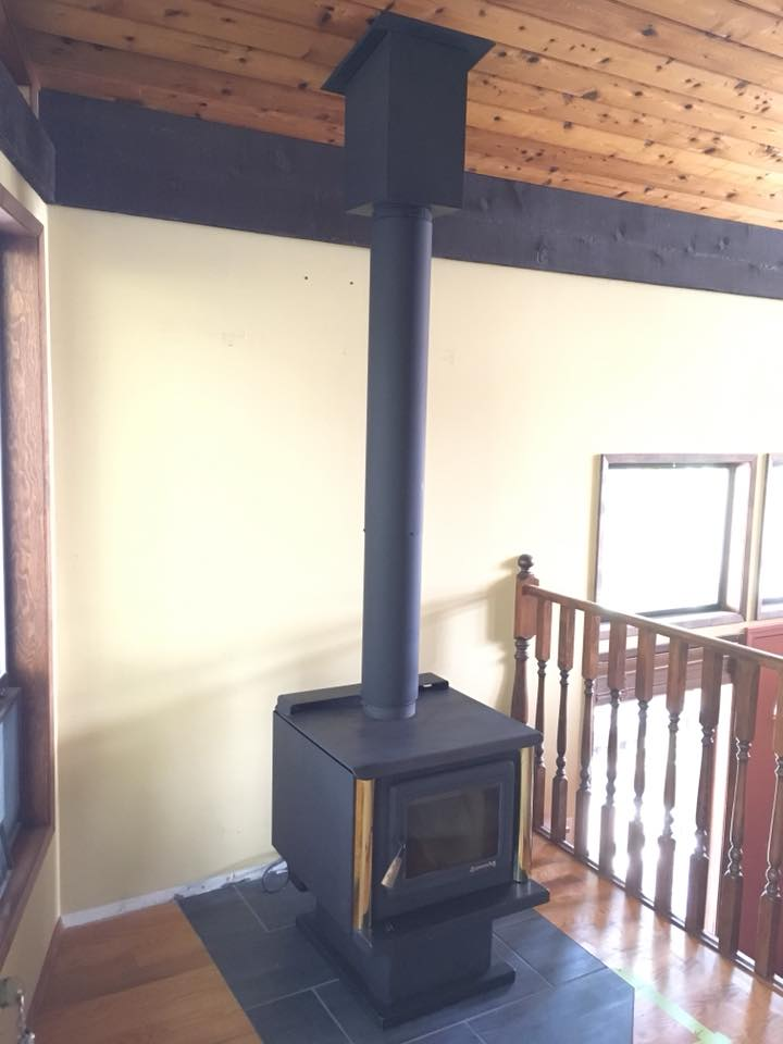 Used Pacific Energy Wood Stove 2